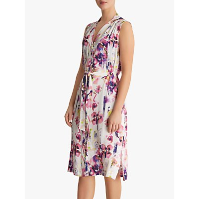 Fenn Wright Manson Cosette Petite Dress, Ivory/Multi