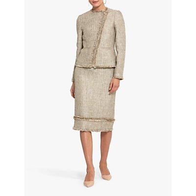 Helen McAlinden Blair Boucle Texture Jacket, Beige