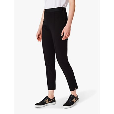 PS Paul Smith Slim Leg Super Stretch Trousers, Black