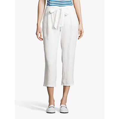 Betty Barclay Cropped Trousers, Bright White