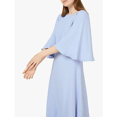 Finery Nadia Angel Sleeve Midi Dress, Lilac