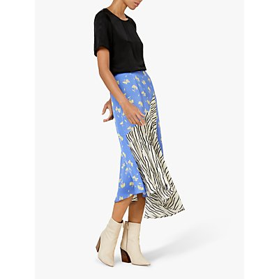 Finery Sofia Print Skirt, Multi