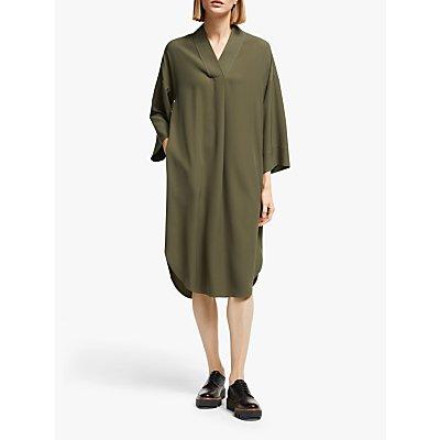 Kin Trapeze Kimono Dress, Green