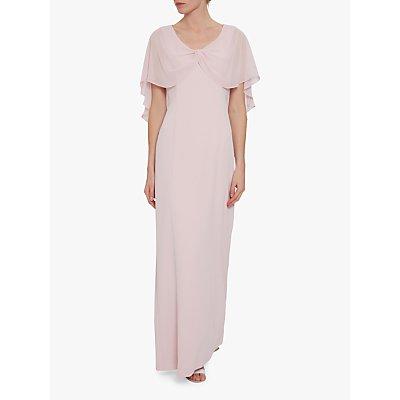 Gina Bacconi Taylor Crepe Maxi Dress
