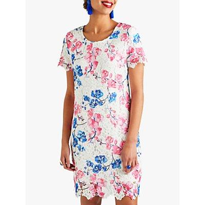 Yumi Blossom Lace Tunic Dress, Pink