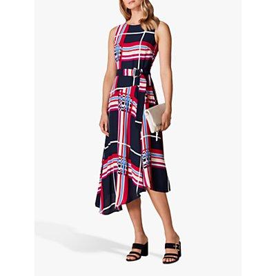 Karen Millen Check Midi Dress, Midi