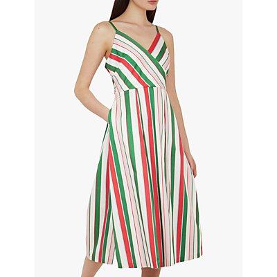 Ted Baker Noriie Tutti Frutti Stripe Dress, White