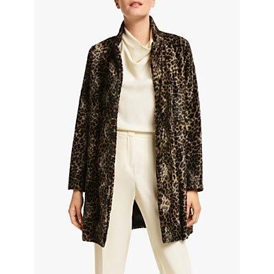 Marella Ussita Leopard Print Coat, Leopard