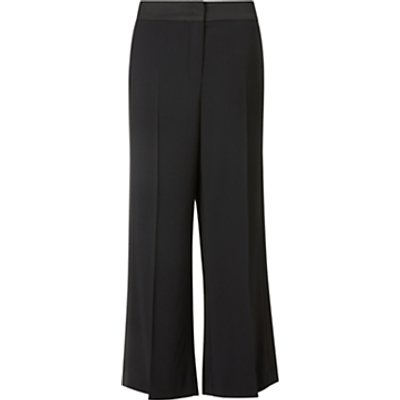 Marella Adoorno Wide Leg Trousers, Black