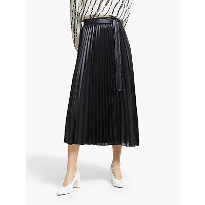 Marella Brioso Pleated Skirt, Black