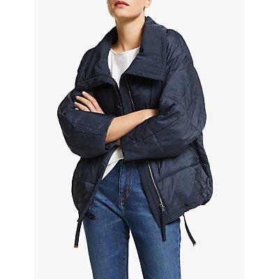 Weekend MaxMara Doria Quilted Coat, Midnight Blue