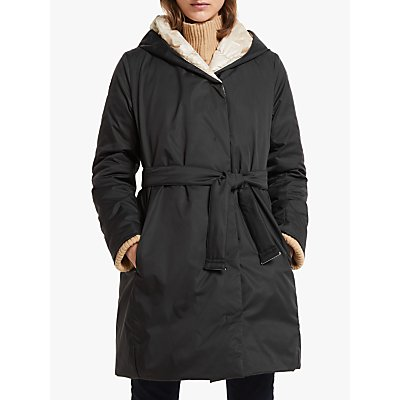 Weekend MaxMara Ali Reversible Coat, Black