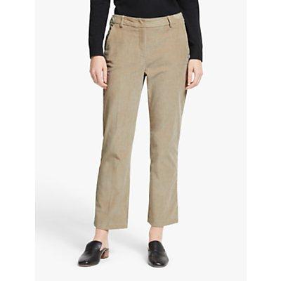Weekend MaxMara Fiero Slim Cord Trousers, Sand