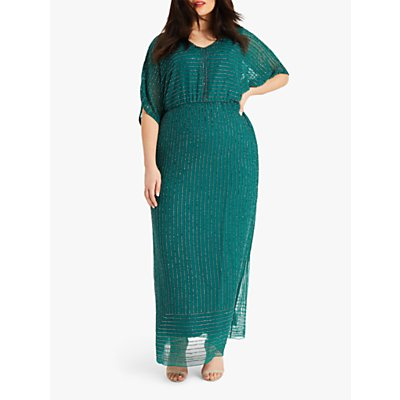 Studio 8 Hera Beaded Dress, Emerald