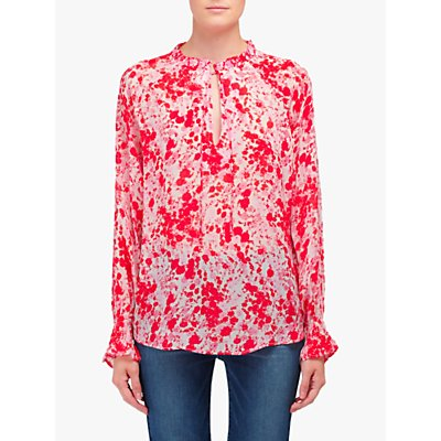 Lily and Lionel Florence Forget Me Knot Print Top, Pink