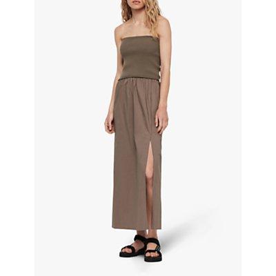 AllSaints Sono Maxi Dress, Khaki