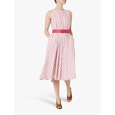Helen McAlinden Ava Stripe Dress, Pink
