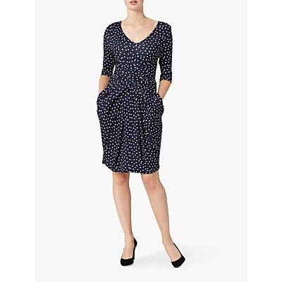 Helen McAlinden Vintage Dot Dress, Navy