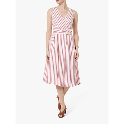 Helen McAlinden Iris Stripe Dress, Pink