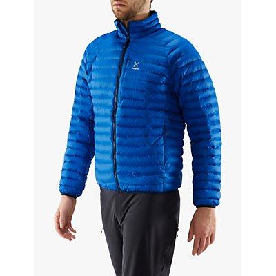 Haglöfs Essens Mimic Men's Insulated Quilted Jacket, Storm Blue/Tarn Blue