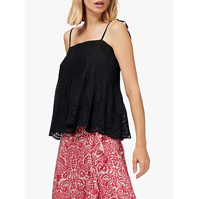Brora Embroidered Cami Top