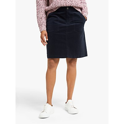 Collection WEEKEND by John Lewis Cord A-Line Utility Pocket Skirt
