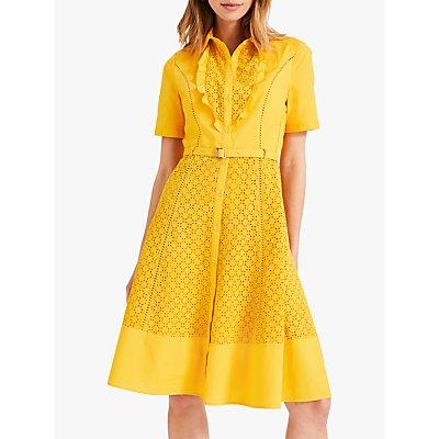 Damsel in a Dress Brielle Broderie Dress, Marigold