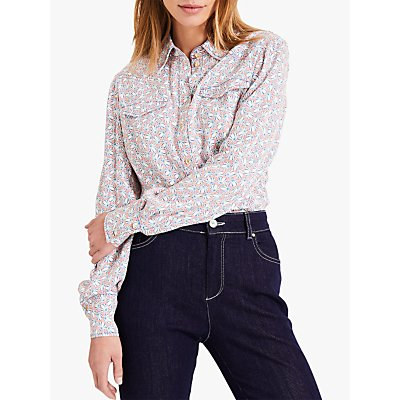 Damsel in a Dress Cecily Printed Shirt, Pink