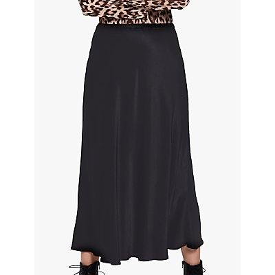 Ghost Chelsea Midi Skirt, Black