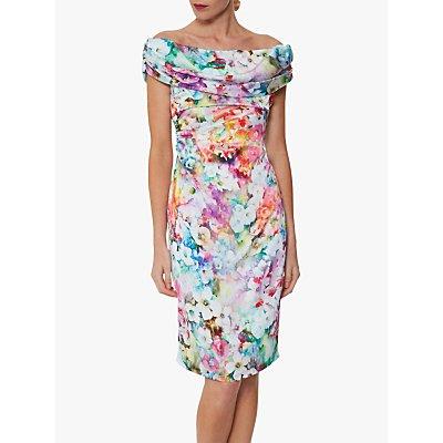 Gina Bacconi Saletta Floral Dress, Multi