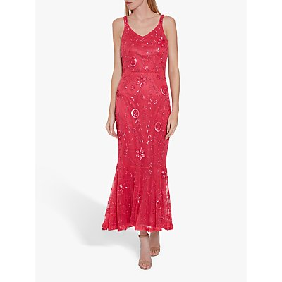 Gina Bacconi Zaina Beaded Dress