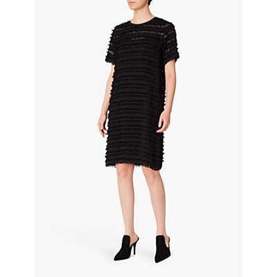 PS Paul Smith Fray Edge Tunic Dress, Black