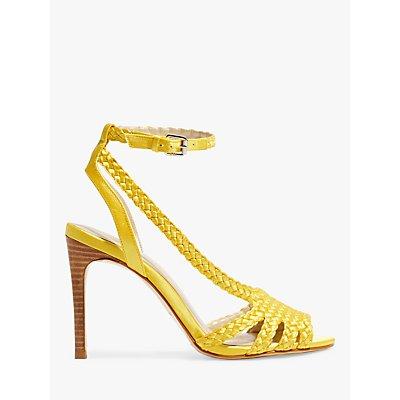 Karen Millen Woven Stiletto Heel Sandals