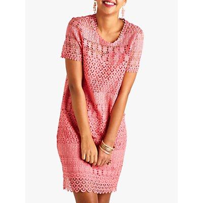 Yumi Lace Floral Tunic Dress