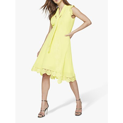 Damsel in a Dress Calinda Lace Dress, Yellow