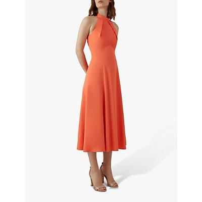 Karen Millen Halterneck Midi Dress