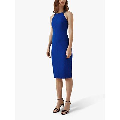 Karen Millen Jewelled Strap Dress, Blue