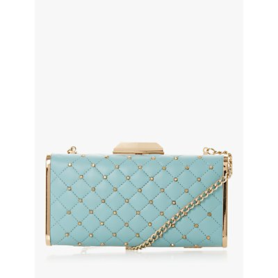 Dune Bsaavy Quilted Boxy Clutch Bag