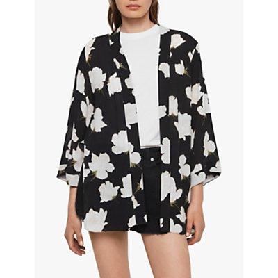 AllSaints Carina Caro Kimono, Black