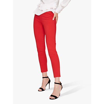 Damsel in a Dress Danica Cropped Trousers, Red