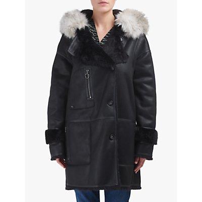 urbancode Azziza Reversible Faux Fur Shearling Coat