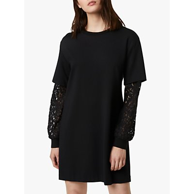 French Connection Sabinne Dress, Black