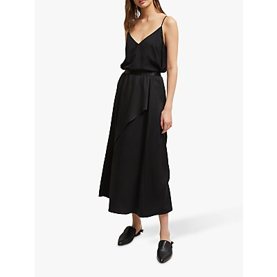 French Connection Alessia Midi Skirt, Black