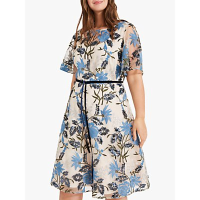 Studio 8 Nyla Embroidered Dress, Multi