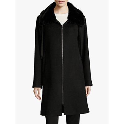 Betty Barclay Faux Fur Collar Coat