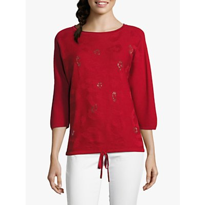 Betty Barclay Embellished Textured Top