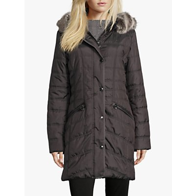 Betty Barclay Quilted Hooded Coat