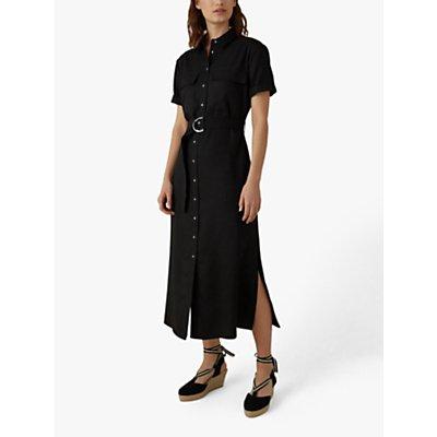 Karen Millen Utility Shirt Dress, Black