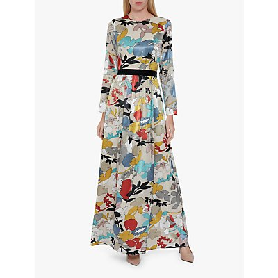 Gina Bacconi Aristi Floral Maxi Dress, Multi