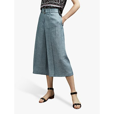 Ted Baker Charlla Paperbag Trousers, Light Blue